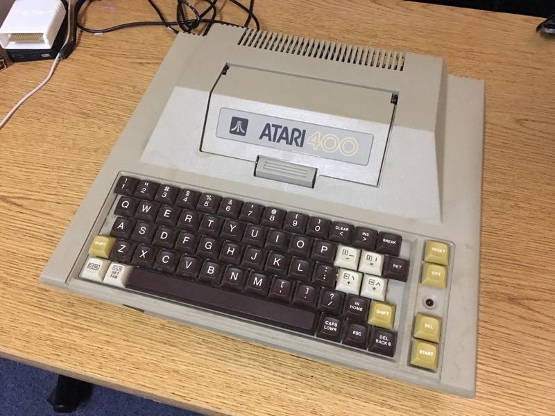 My B-Key Atari 400