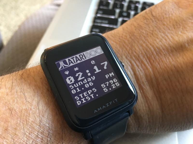 Atari 800 Amazfit Bip watchface - Atari 8-Bit Computers - AtariAge